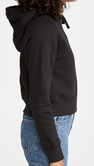 x karla 短款连帽运动衫