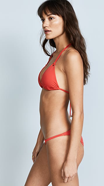 Heidi Klum Majestic Triangle Bikini Top