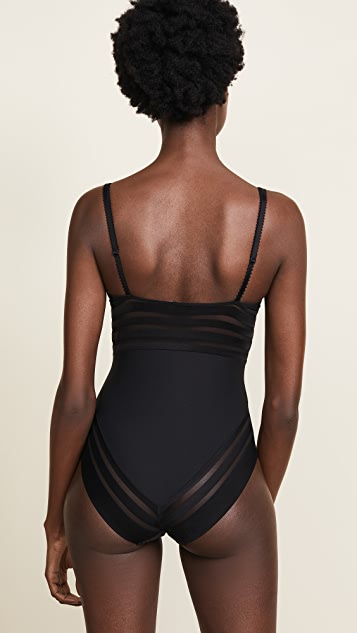 Heidi Klum Nightshade Fling Bodysuit