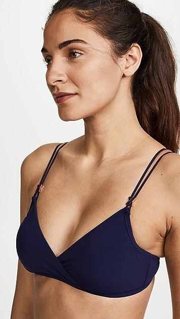Heidi Klum Cross Front Bikini Top