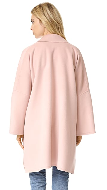 Helmut Lang Double Face Wool Coat