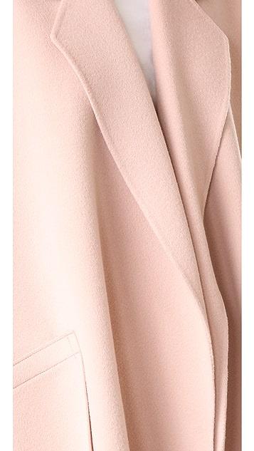 Helmut Lang Double Face Wool Coat