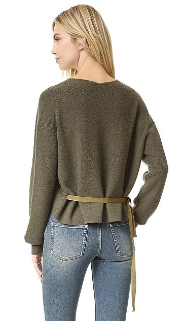 c1ac120afe51 Helmut Lang V Neck Sweater