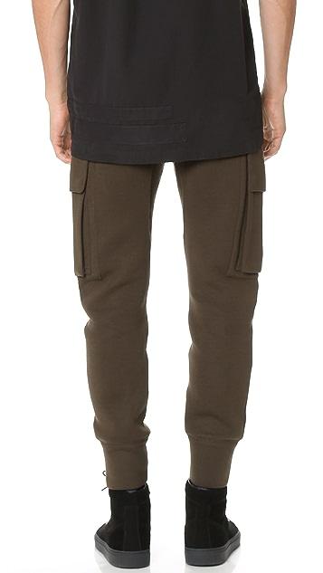 Helmut Lang Curved Leg Cargo Pants