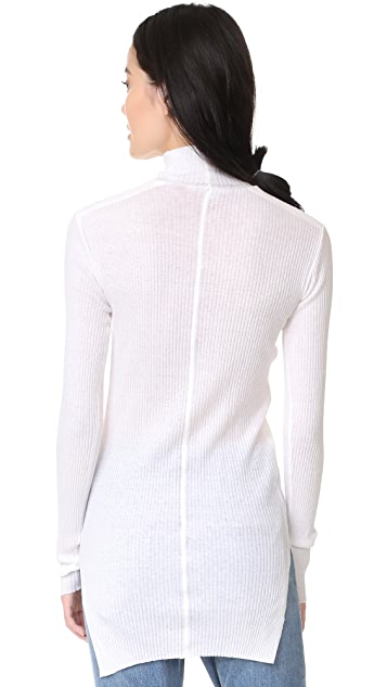 Helmut Lang Fitted Turtleneck Top