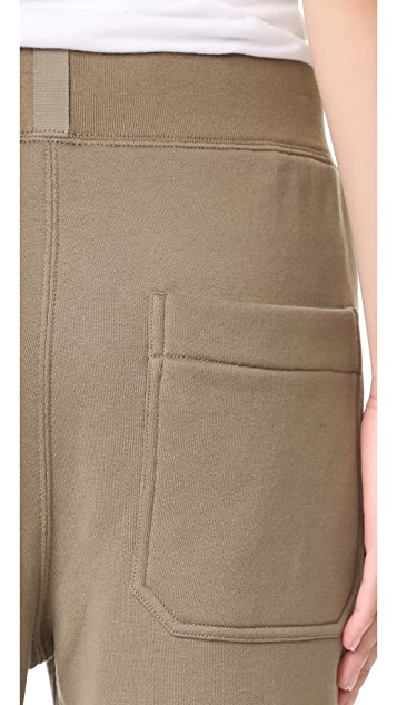 Helmut Lang Knee Patch Sweatpants