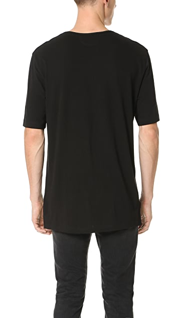 Helmut Lang Film Logo Print Box Fit Tee