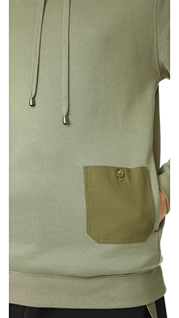 Helmut Lang Patch Pocket Hoodie
