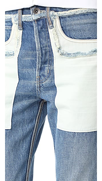 Helmut Lang Inside Out Jeans