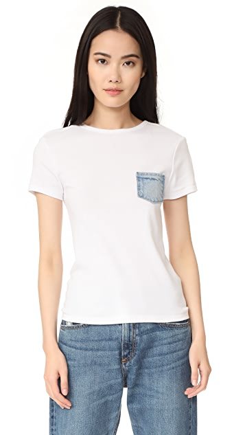 Helmut Lang Denim Pocket Tee