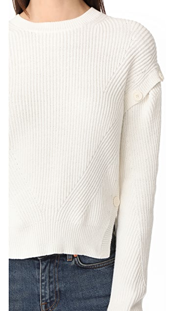 Helmut Lang Detachable Sleeve Pullover