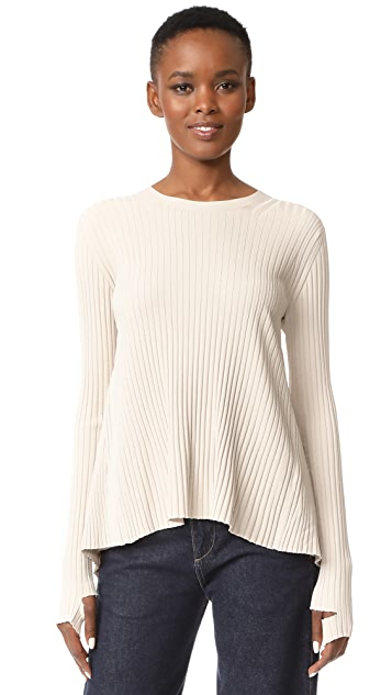Helmut Lang Back Tie Sweater