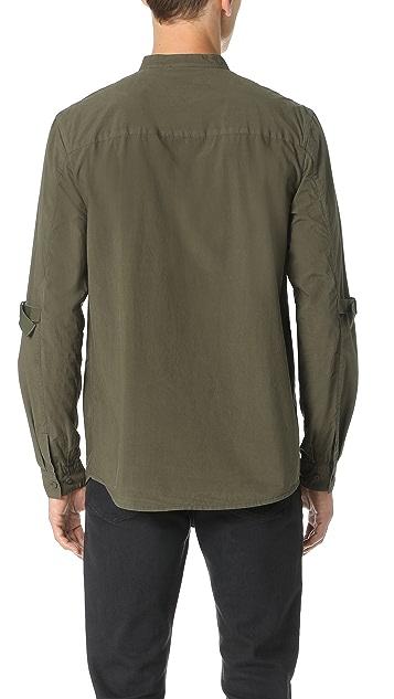 Helmut Lang Elbow Strap Long Sleeve Shirt