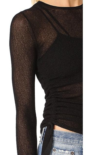 Helmut Lang Drawstring Pullover