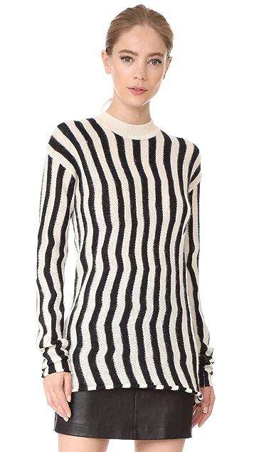 Helmut Lang Technical Stripe Sweater