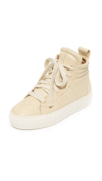 Helmut Lang Woman Leather Sneakers Light Brown Size 36.5 Helmut Lang Marketable Cheap Online WlgfBA
