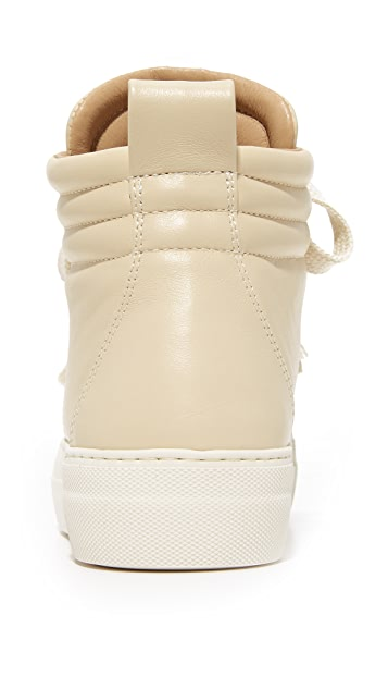 Helmut Lang Padded High Top Sneakers