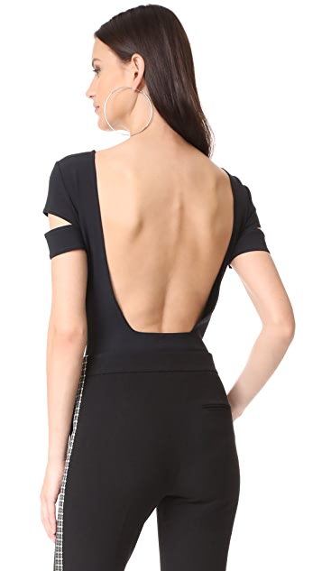 Helmut Lang Low Back Bodysuit