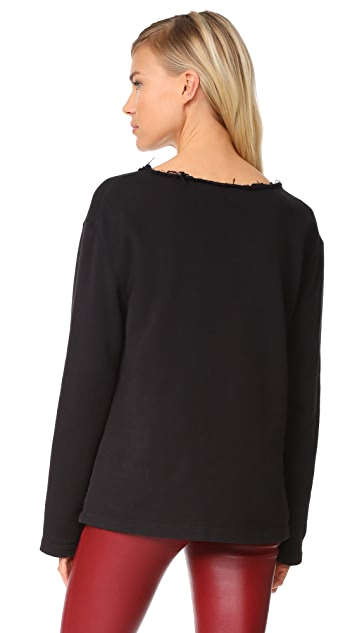 Helmut Lang Raw Detail Sweatshirt