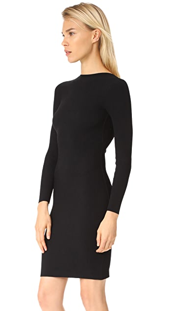 Helmut Lang Tie Back Dress
