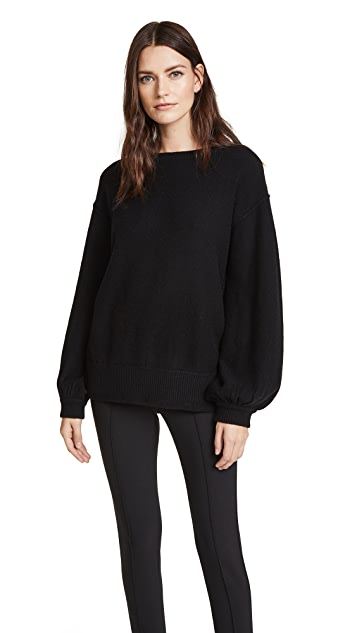 Helmut Lang Balloon Sleeve Pullover