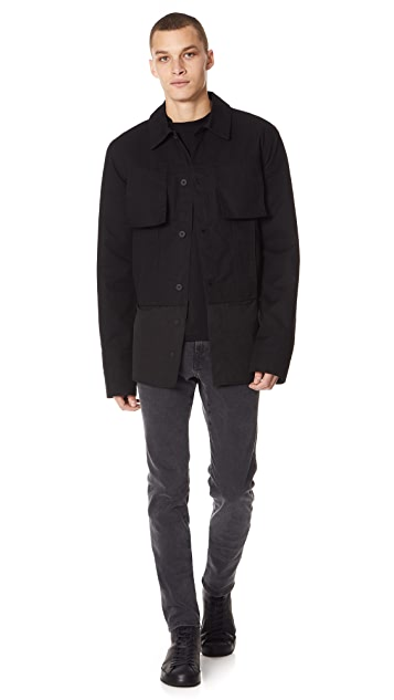 Helmut Lang Shirt Bottom Jacket