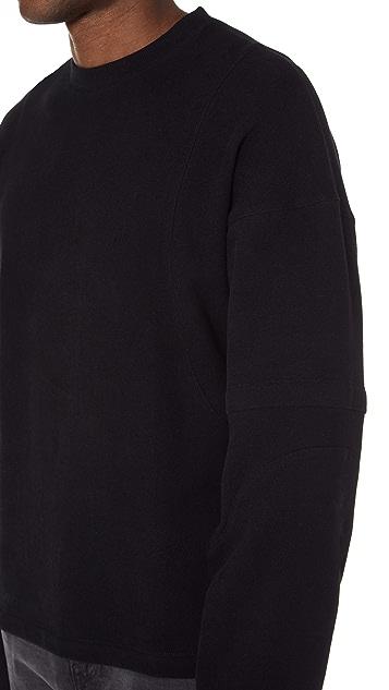 Helmut Lang Distorted Arm Sweatshirt