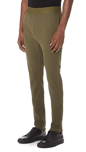 Helmut Lang Straight Leg Joggers