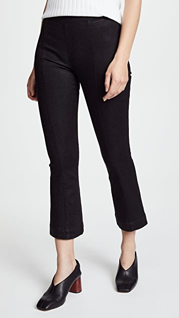 Helmut Lang Crop Flare Leggings