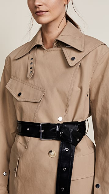 Helmut Lang Utility Mackintosh Trench Coat