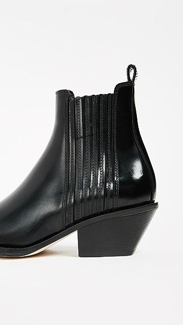 Helmut Lang Cowboy Boots