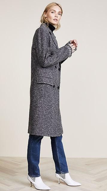Helmut Lang Deconstructed Overcoat