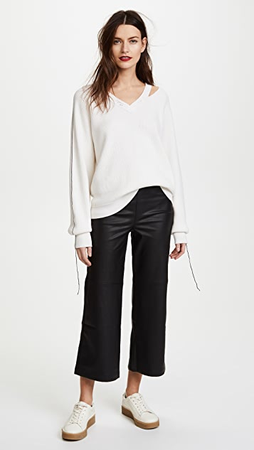 Helmut Lang Distressed Sweater