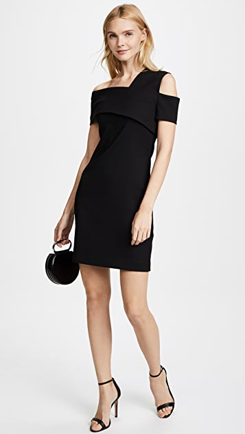Helmut Lang Asymmetric Scuba Dress