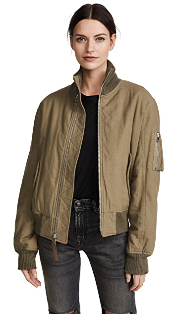Helmut Lang Re-Edition High Collar Bomber Jacket