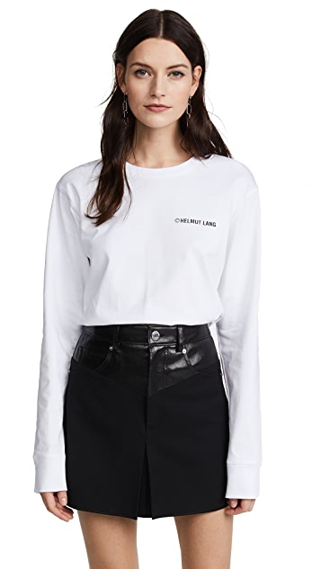 Helmut Lang Long Sleeve Taxi T-Shirt