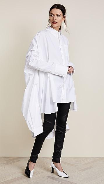 d0483ddc531 Helmut Lang Poncho Oversized Tunic Dress | SHOPBOP