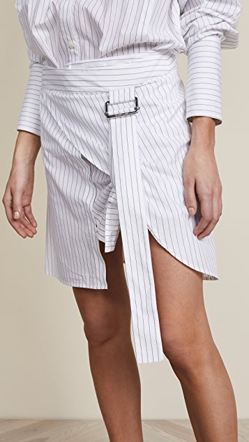 Helmut Lang Pulled Up Shirt Dress
