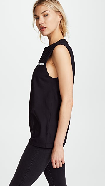 Helmut Lang Raw Edge Muscle Tee