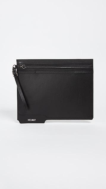 Helmut Lang Folder Clutch - Black