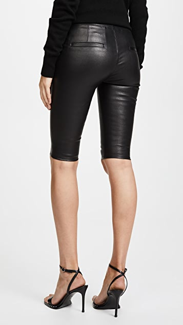 b0d19c7c4fcfe Helmut Lang Crop Leather Leggings | SHOPBOP