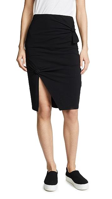 Helmut Lang Knot Skirt