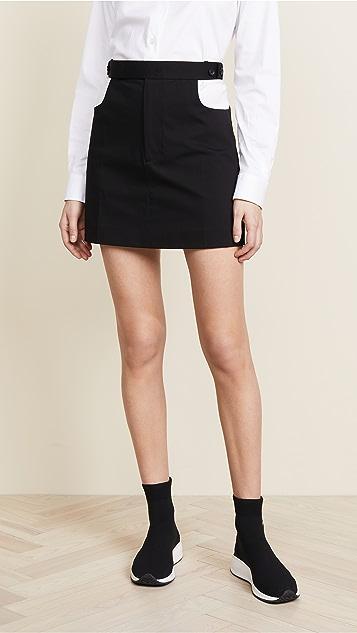 Helmut Lang Cutout Skirt