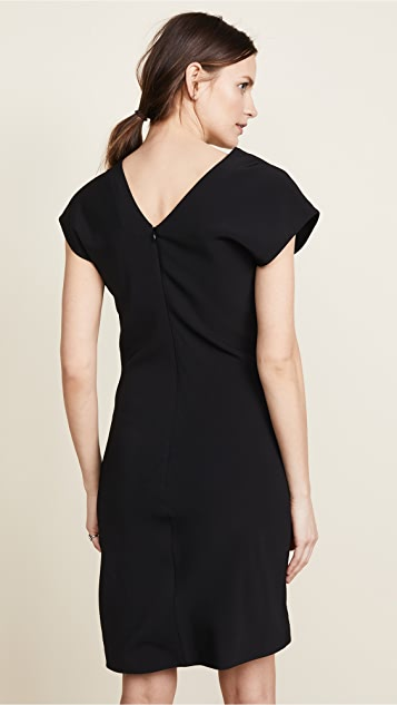 Helmut Lang Shifted Viscose Dress