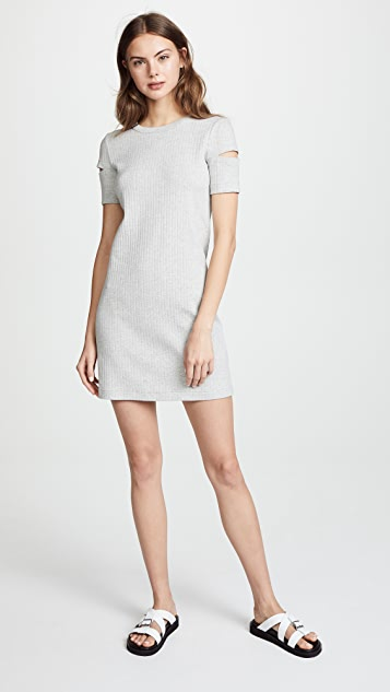 Helmut Lang Wide Rib Dress