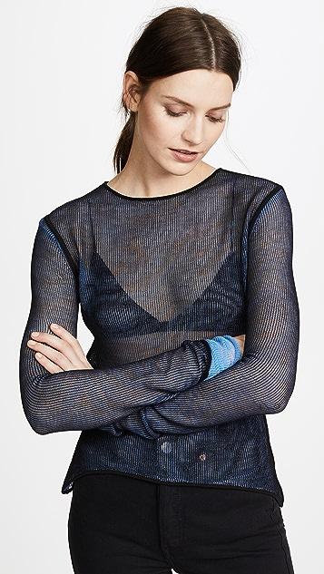 Helmut Lang Sheer Pullover