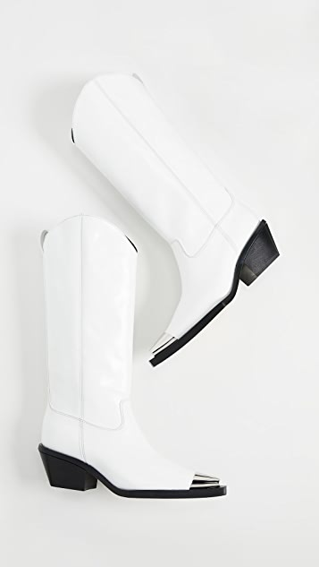 Helmut Lang Tall Cowboy Boots