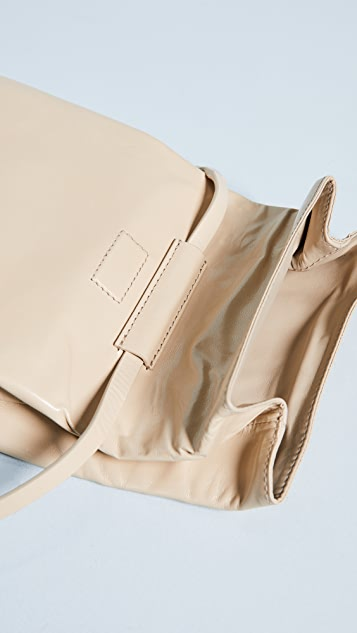 Helmut Lang Mini Fold Over Cross Body Bag