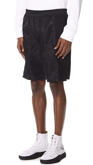 Helmut Lang Nylon Shorts
