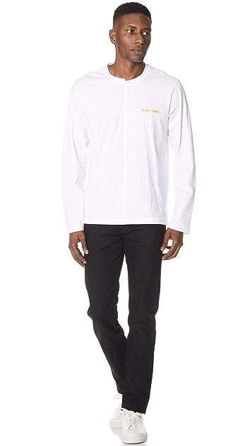 Helmut Lang Long Sleeve Tee Shirt